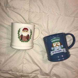 Threshold Christmas Mugs